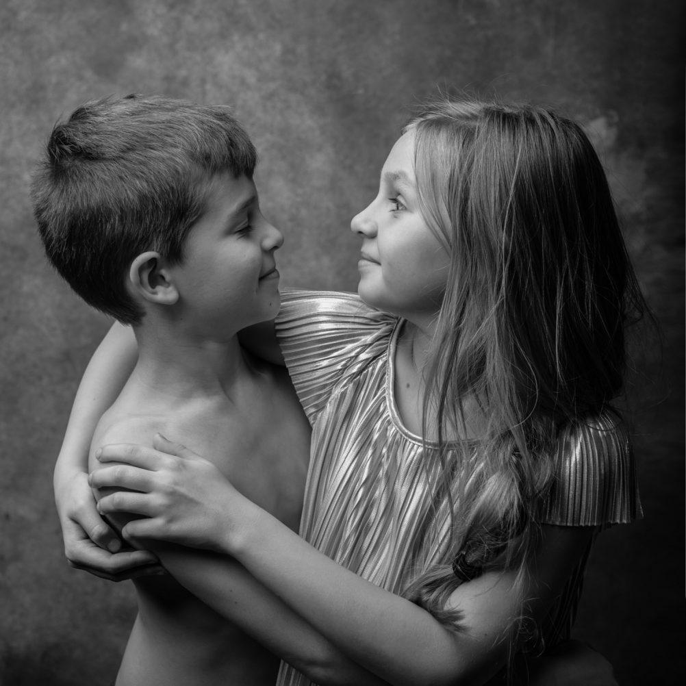 súrodenci, spolocné fotky, krasa, brat a sestra, fotenie