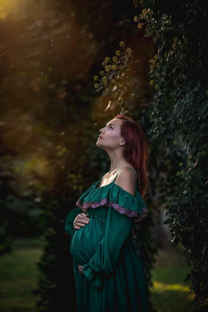 fotenie v prirode, tehotenské fotenie, šaty pre tehotenské fotenie, tehuľka, fotenie bruška