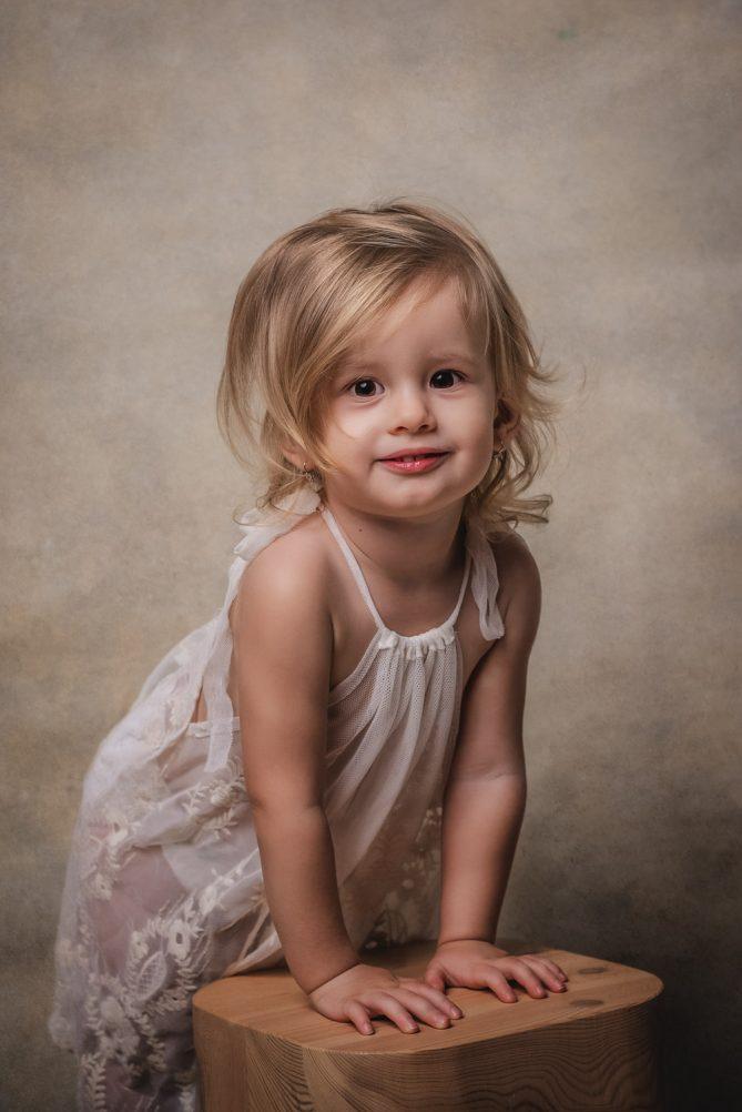 detský portrét, dievcatko, fotenie detí