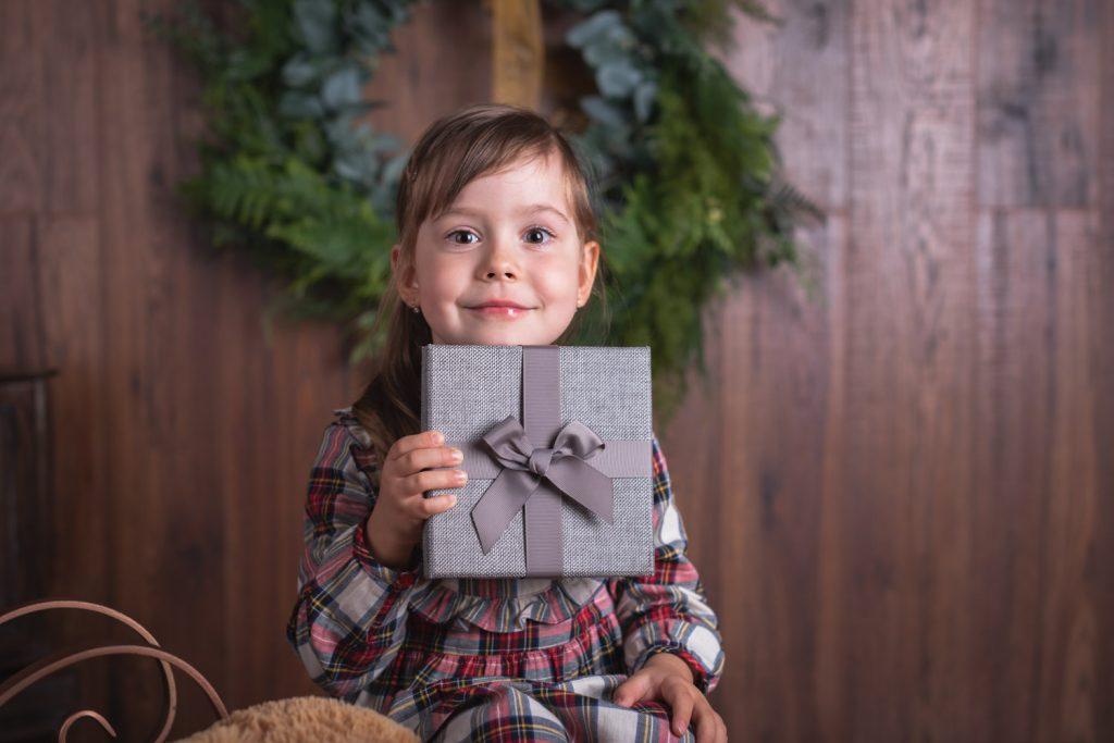 vianocne fotenie, darcek, fotograf na detske fotenie